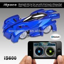iS600 Popular iPhone control wall climber mini rc car