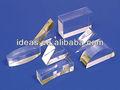 Limpar moda plexiglass acrílico prisma