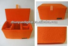 Digital Camera Fit 1xDSLR+2-3xLens Camera bag padded camera insert