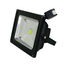 Outdoor led rgb flood light with sensor