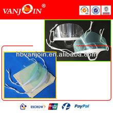 Anti-fog Plain Plastic Face Mask