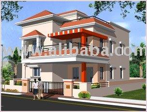 Maisons duplex villas id du produit 104156967 french for Plan maison duplex
