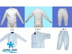 Fencing uniform (CE 350N & FIE 800N)