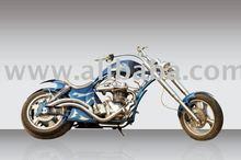 blue lightening motorcycle