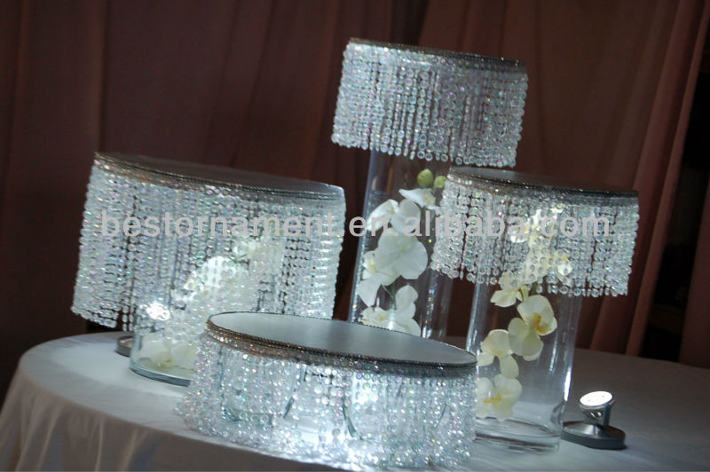 10round Base DECORATIVE WEDDING CAKE STAND View Crystal Cake Stands For Wedding Cakes BEST