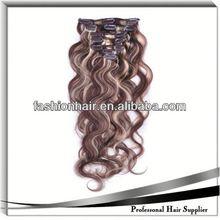 2014 New fashion Hair Extension Clip Hair Extension wig kinky yaki human hair for gift