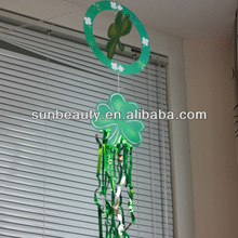 2014 Lucky Shamrock Hanging Decoration for St Patrick's Day