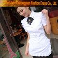 la costumbre de moda blanco uniforme de panadería