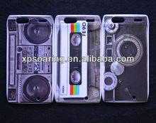 Mobile phone plastic tape case cover for Motorola razr XT910