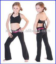 Slim fit kids yoga pants