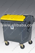 waste containers Weber 1100 litres - round lid