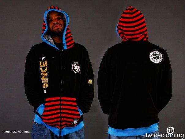 Twice Clothing Mens Hoodie, Sweat Shirt