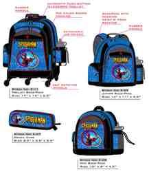 Spider-Man School Bag Collection