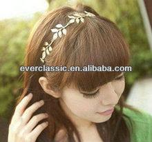 Fashion metal elastic hair bands for women