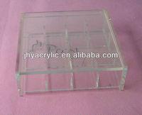 small acrylic display mail/gem box