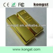 USB Flash Drive 2.0-3.0 64GB Memory Stick,Bulk 2GB USB Flash drives with Key Chain,Gold Bar USB Flash Drive Wholesale