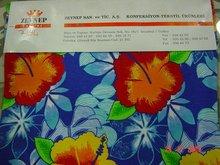 printed textiles 100% organic cotton