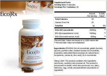 Omega-3 EPA/DHA fish oil concentrates