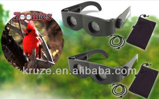 nouvelle technologie zoomies loupe lunettes télescopes zoom fois 300 mains libres