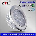 round flat 110v ceiling 18w led puck light