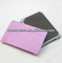 Book leather case for ipad mini with various color avaliable