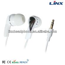 Best fashion earphones 2012 for phone pad netebook LX-E002