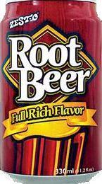 Zesto Root Beer drinks