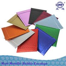 Matt Aluminum foil Bubble Envelope with Superior Cushioning
