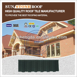 Good Brand Color Steel Roof Tile / Stone Coated Metal Roof