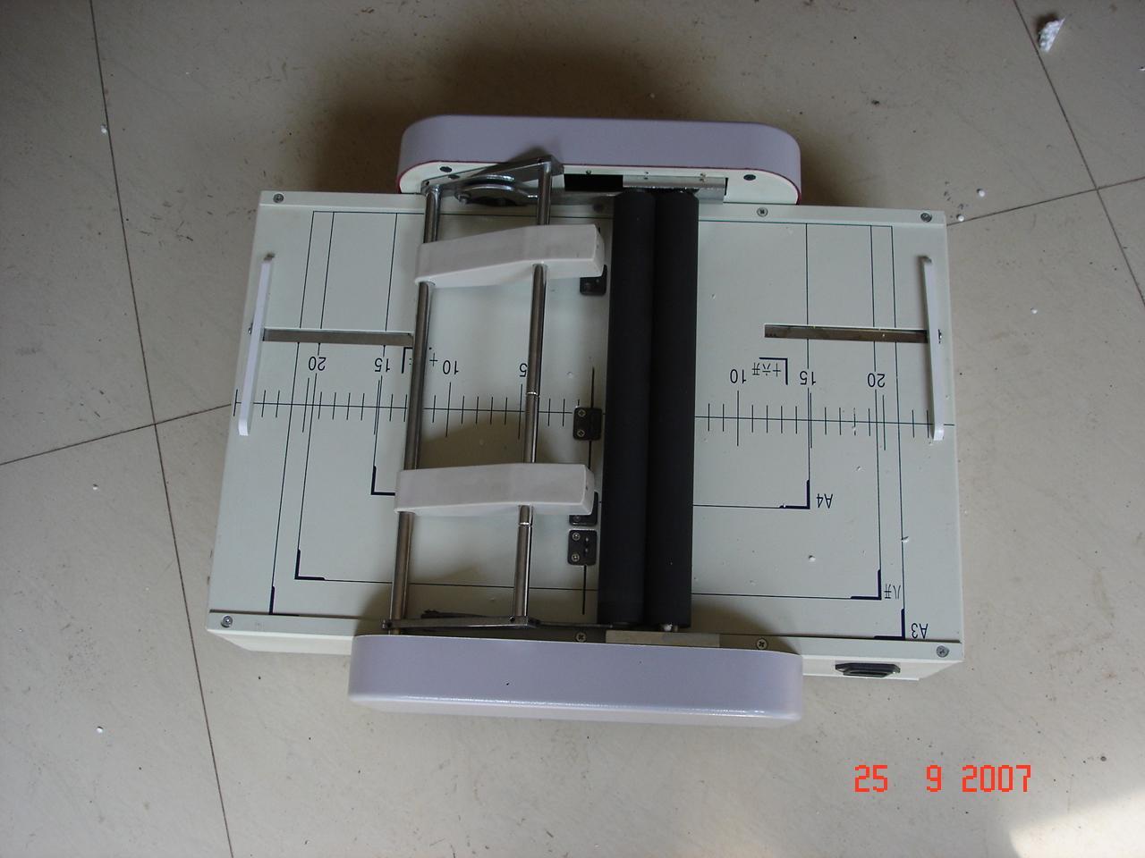 folding and stapling machine