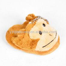 hot selling plush toys plush monkey keychain
