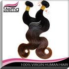 5a 4 Pcs /Lot 18 20 22 24 Inch Brazilian body wave ombre blonde hair