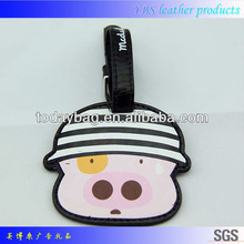 real leather luggage tags Fashion Bag