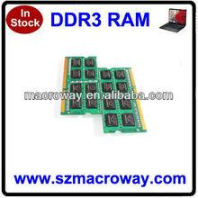 Laptop sodimm ddr3 8gb ram memory