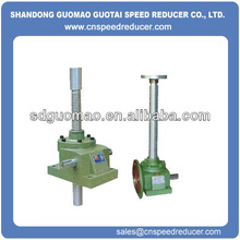 China worm gear 2 ton screw jack