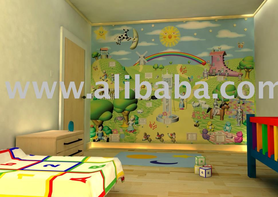 wallpaper murals for kids. bedroom Wallpaper Murals