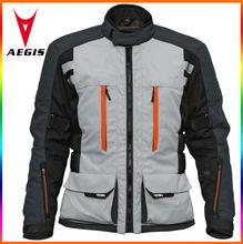 OEM kids motorcycle jacket in grey,kids cheap jacket