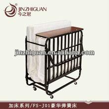 Single Hotel Steel Spring Rollaway Bed (FS-J01)