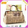 Good quality canvas luggage travelling bag (NV-TB031)