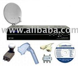 Sonicview 360 Premier Motorized FTA Satellite System #1 Satellite TV Receiver