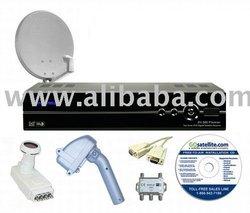 Sonicview 360 Premier MOTORIZED FTA Satellite System #2 Satellite TV Receiver