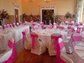 De alta calidad de la boda cubierta de la silla y fajines/cinchos