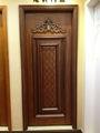 novo design da porta de madeira