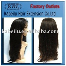 KBL brazilian hair full lace wig,hair integration wigs