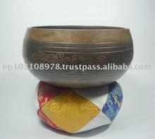 Carving Singing bowls