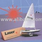 Laser Model Sailboat by Classail