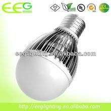 high power 7w bulb led a60 a19/7w led bulb/Sumsung Chip, 100lm/w, Fins Heatsink, 700lm, CRI>90, 3 years warranty