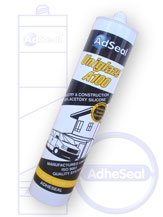 AdSeal Uniglaze A100 - The Glass & Metal Silicone Sealant