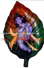 Child Krishna mural painting painting wall frame mural painting