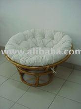 Rattan Papasan stool